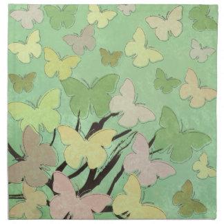 Butterfly Blossom American MoJo Napkin