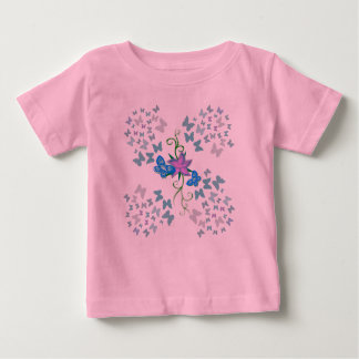 Butterfly Blue Baby T-Shirt