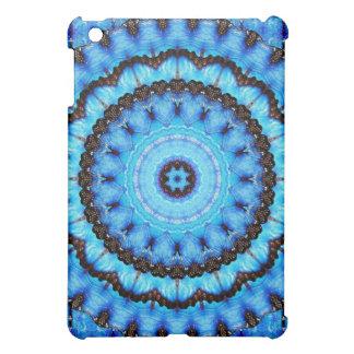 Butterfly Blue Mandala Case For The iPad Mini