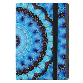 Butterfly Blue Mandala Cover For iPad Mini