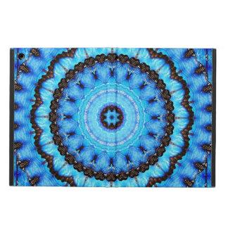 Butterfly Blue Mandala iPad Air Cover
