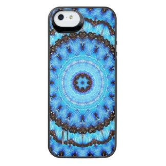 Butterfly Blue Mandala iPhone SE/5/5s Battery Case