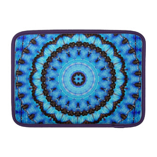 Butterfly Blue Mandala MacBook Air Sleeve