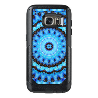 Butterfly Blue Mandala OtterBox Samsung Galaxy S7 Case