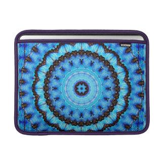 Butterfly Blue Mandala Sleeve For MacBook Air