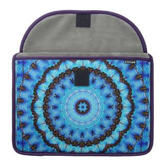 Butterfly Blue Mandala Sleeve For MacBook Pro