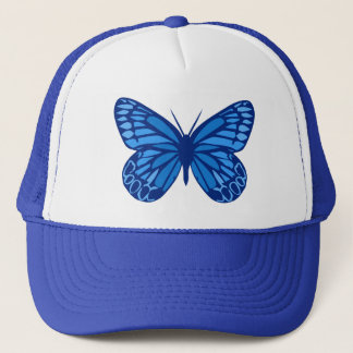 Butterfly Blues Trucker Hat