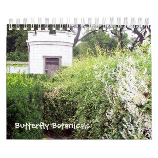 Butterfly Botanicals 12 month calendar