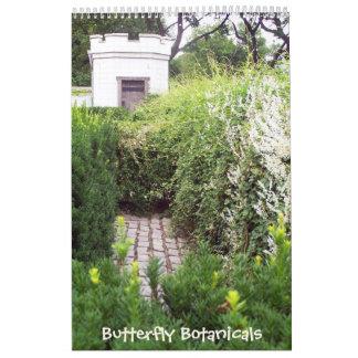 Butterfly Botanicals 18 Month Calendar