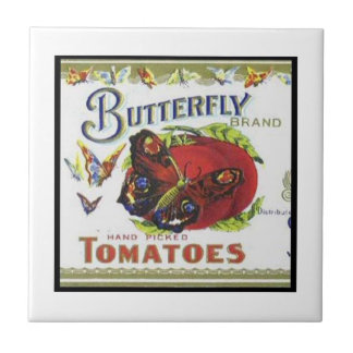 Butterfly Brand Tomatoes Tile