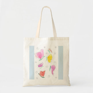 butterfly bunch tote bag