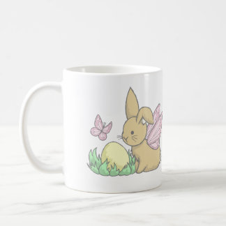 Butterfly Bunny and the Easter Egg Coffee Mugs