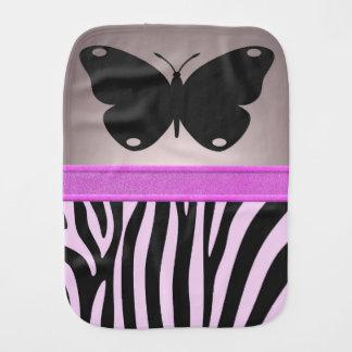 Butterfly Burp Cloths
