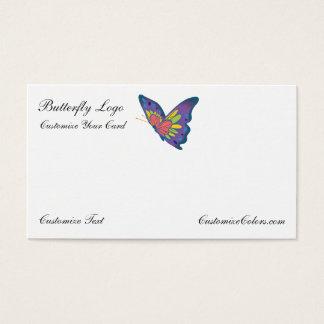 Butterfly Business Card Logo Template