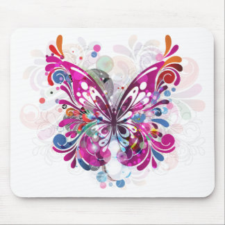 Butterfly ~ Butterflies Customize Template Mouse Pad