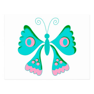 Butterfly Butterflies  Kids Stuff Postcard