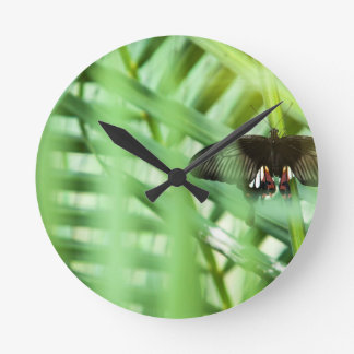 butterfly Cambodia Wall Clock