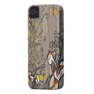 Butterfly Cats BlackBerry Bold Case