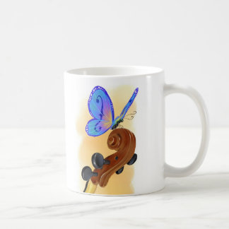 Butterfly Cello Mug