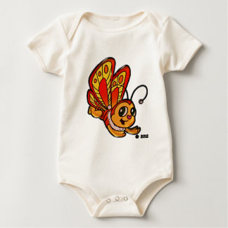 Butterfly Chloe Promotional Items Baby Bodysuit