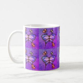 butterfly coffee mug. coffee mug