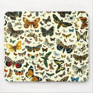Butterfly Collage Mouse Pads