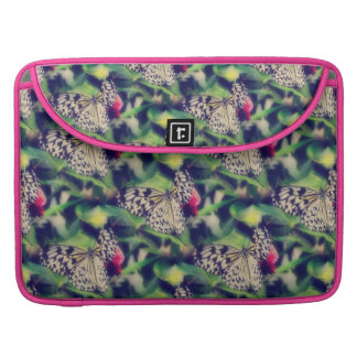 Butterfly Collage Sleeve For MacBook Pro