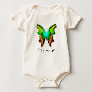 Butterfly Collection Baby Bodysuit