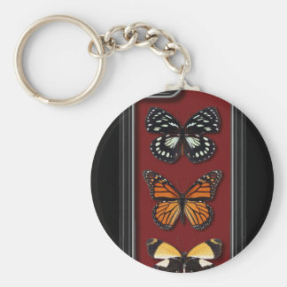 Butterfly collection keychains