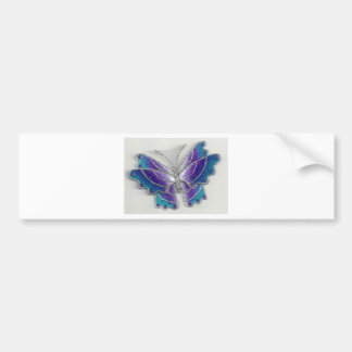 butterfly collection series id 10018 bumper sticker