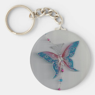 butterfly collection series id 10031 mobile basic round button key ring