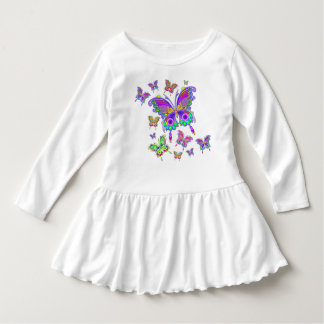 Butterfly Colorful Tattoo Style Dress