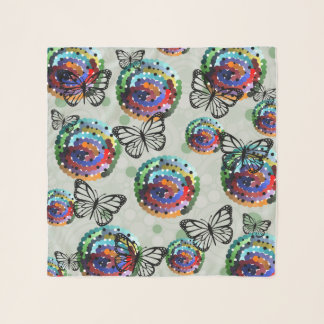 Butterfly Colour Scarf