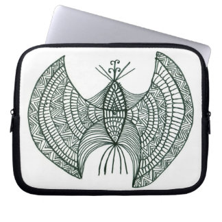 Butterfly computer case laptop sleeves