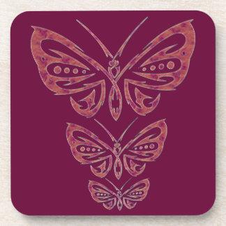 Butterfly Cork Coaster