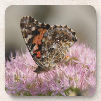 butterfly cork coasters