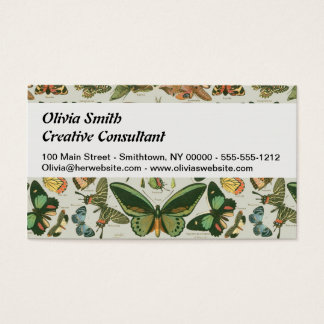 Butterfly Creative Business Card