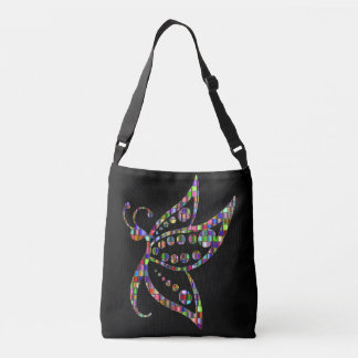 butterfly cross body bag