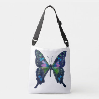 Butterfly Custom All-Over-Print Cross Body Bag