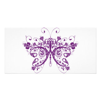 Butterfly Customised Photo Card