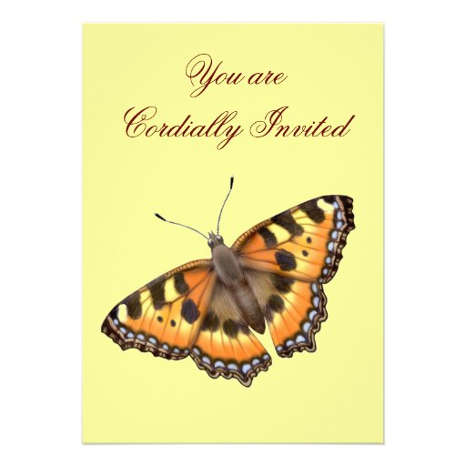 Butterfly Customizable Party Invitation