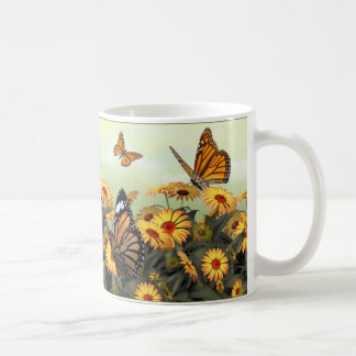 Butterfly Daisy Mugs
