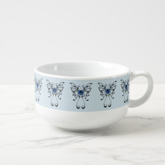 Butterfly Dance 2 Soup Mug