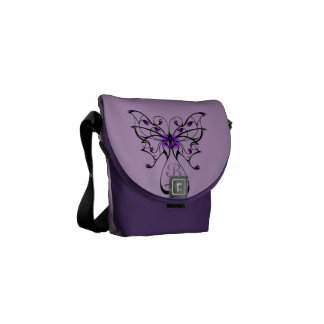 Butterfly Dance Courier Bag