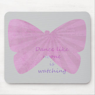 Butterfly Dance Mouse Pad
