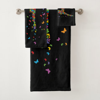 Butterfly Dancer Bath Towel Set