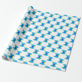 Butterfly Design Wrapping Paper