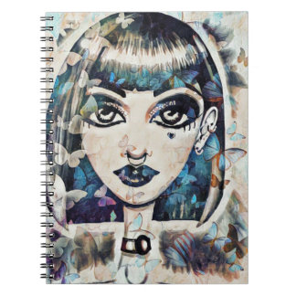 Butterfly Doll Notebook