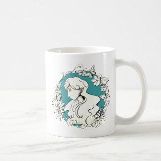 butterfly doodle copy, butterfly doodle copy, N... Basic White Mug