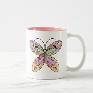 Butterfly Doodle Mugs